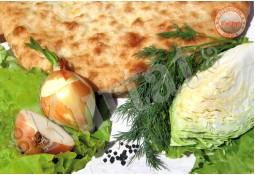 Пирог капустный с зеленью