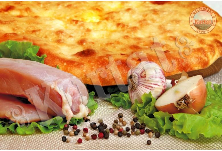 Пирог куриный со специями