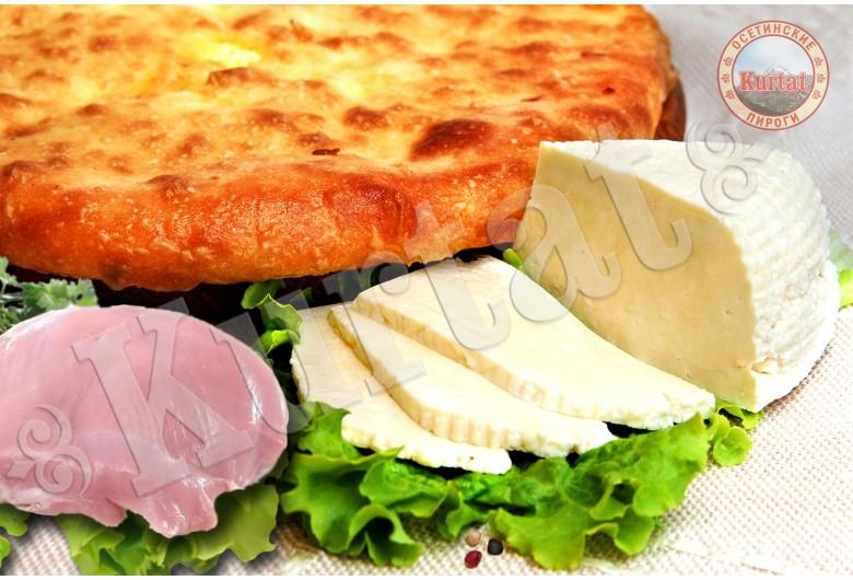 Пирог индейка с сыром